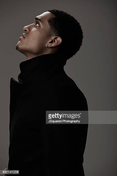 a6f10c75cc8 Jordan Clarkson is photographed for FSHN Magazine on January 19 2016 in Los  Angeles California