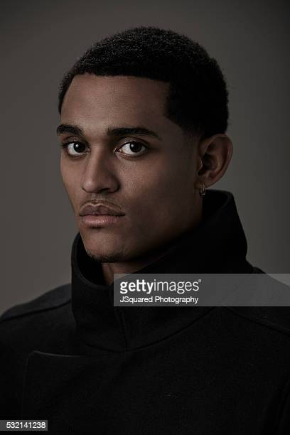 Jordan Clarkson is photographed for FSHN Magazine on January 19 2016 in Los Angeles California