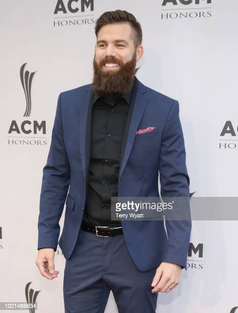 Jordan Davis attends the 12th Annual ACM Honors at Ryman Auditorium on August 22 2018 in Nashville Tennessee