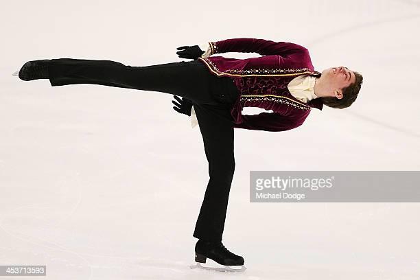 Jordan Dodds competes during the Australian Figure Skating Championships on December 5 2013 in Melbourne Australia
