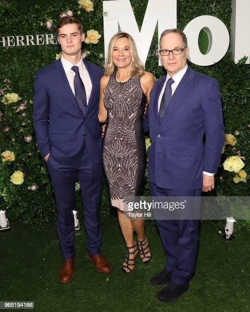 Jordan Dubin, Eva Dubin, and Glenn Dubin attend the 2018 Party in the Garden at Museum of Modern Art on May 31, 2018 in New York City.