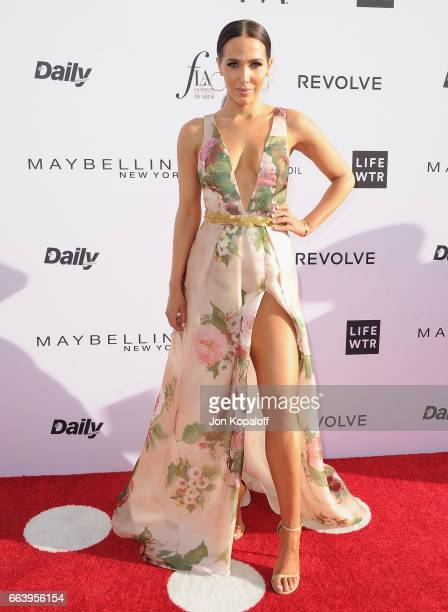 Jordan Duffy arrives at the Daily Front Row's 3rd Annual Fashion Los Angeles Awards at the Sunset Tower Hotel on April 2 2017 in West Hollywood...