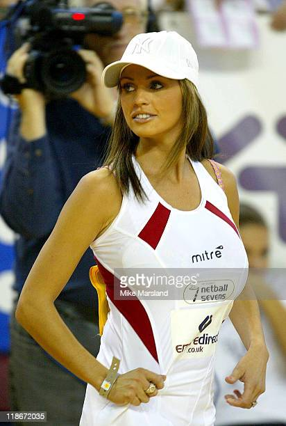 Jordan during 2003 Celebrity Netball Sevens October 5 2003 at Crystal Palace in London Great Britain
