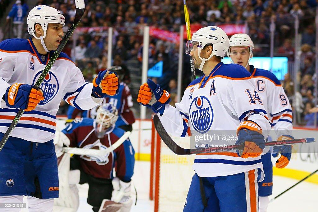 Edmonton Oilers v Colorado Avalanche : News Photo