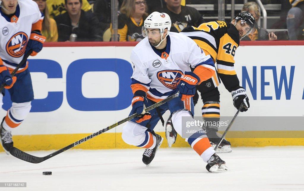 New York Islanders v Pittsburgh Penguins - Game Three : News Photo