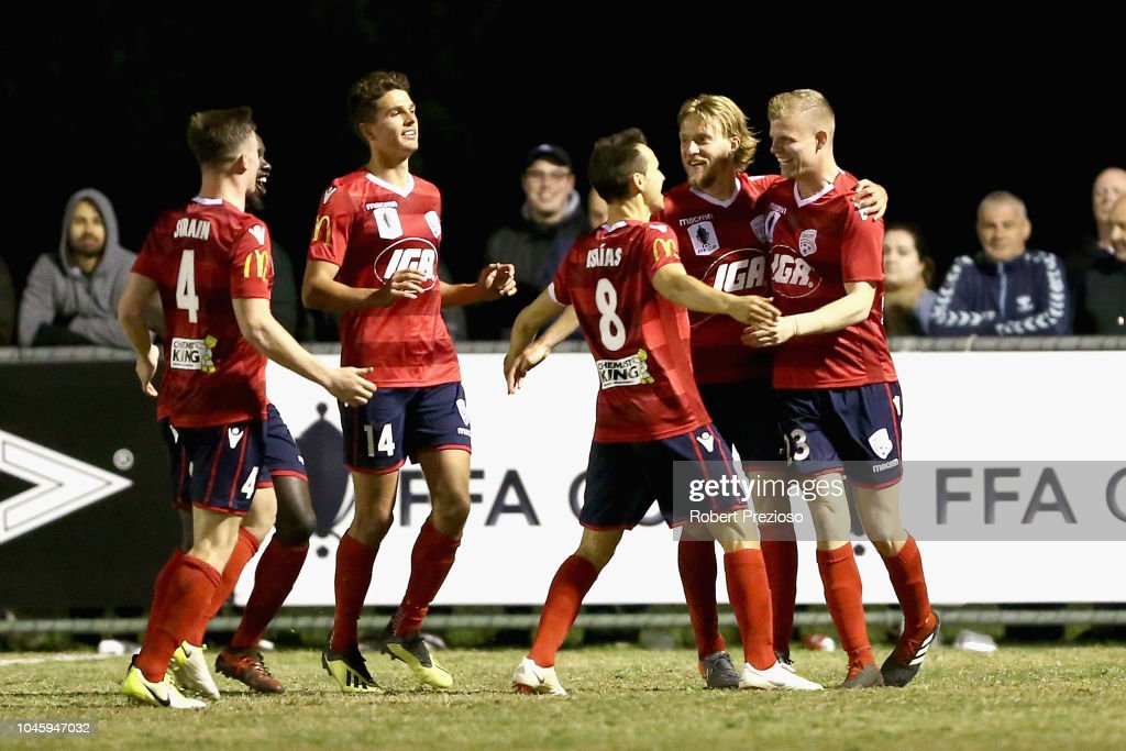FFA Cup Semi Final - Bentleigh Greens SC v Adelaide United : News Photo