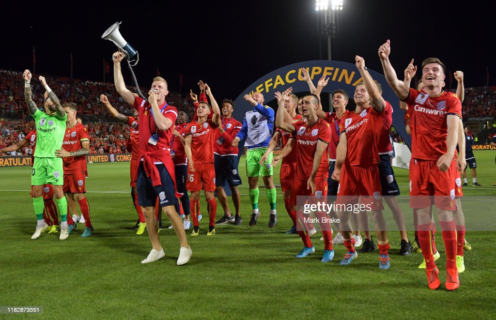 FFA Cup Final - Adelaide United v Melbourne City : News Photo