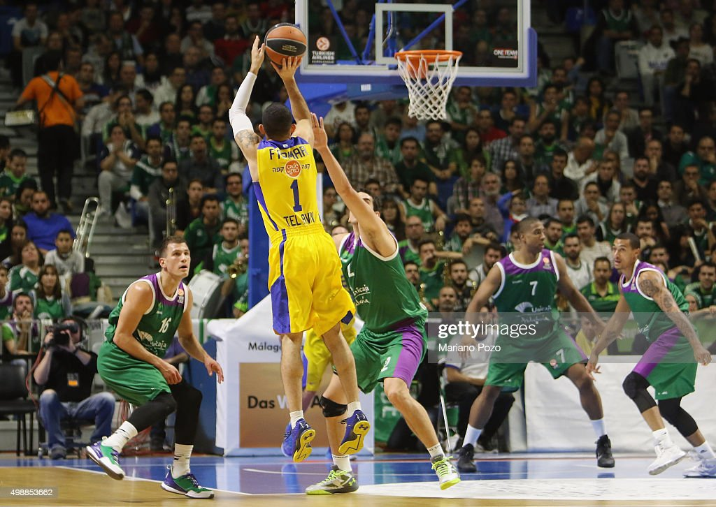 Unicaja Malaga v Maccabi Tel Aviv - Turkish Airlines Euroleague : News Photo