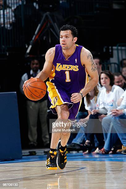 177c3c54318019 Jordan Farmar of the Los Angeles Lakers drives the ball up court against  the Oklahoma City