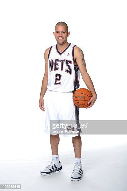 Jordan Farmar of the New Jersey Nets poses for a photo during Media Day on September 24 2010 at the PNY Center in East Rutherford New Jersey NOTE TO...