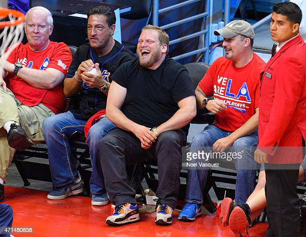 Jordan Feldstein attends a basketball game between the San Antonio Spurs and the Los Angeles Clippers at Staples Center on April 28 2015 in Los...