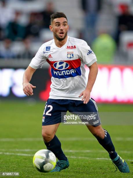 Jordan Ferri of Olympique Lyon during the French League 1 match between Nice v Olympique Lyon at the Allianz Riviera on November 26 2017 in Nice...