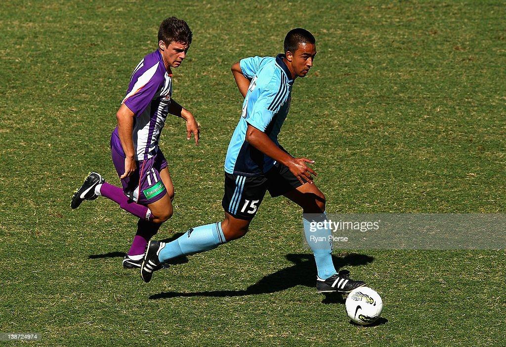 Youth League Rd 15 - Sydney v Perth : News Photo
