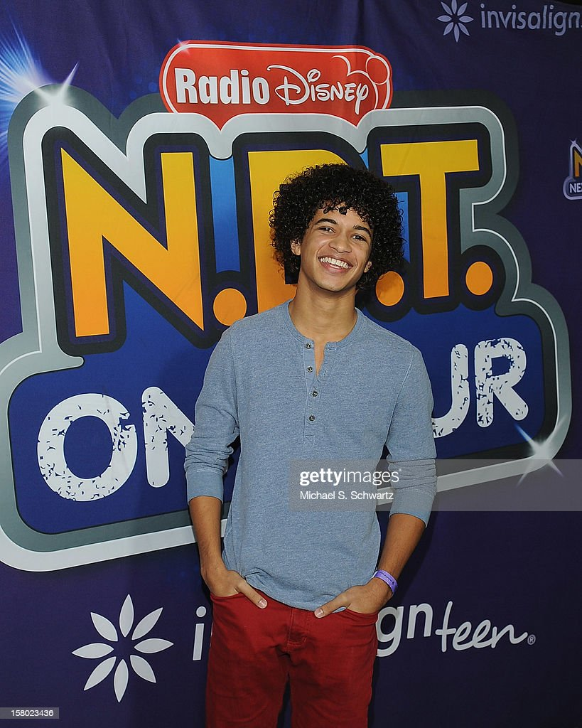 Jordan Fisher arrives at the Radio Disney's 'N.B.T.' (Next BIG Thing) Season 5 winner and finale event at The Americana at Brand on December 8, 2012 in Glendale, California.