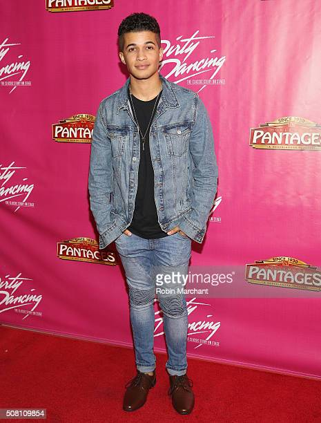 Jordan Fisher attends Opening Night Of Dirty Dancing The Classic Story On Stage at the Pantages Theatre on February 2 2016 in Hollywood California