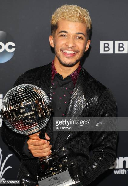 Jordan Fisher attends the 'Dancing With The Stars' Season 25 Finale on November 21 2017 in Los Angeles California