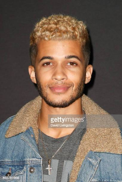 Jordan Fisher attends the Knott's Scary Farm and Instagram's Celebrity Night at Knott's Berry Farm on September 29 2017 in Buena Park California