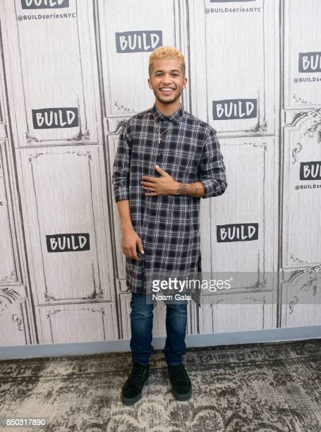Jordan Fisher visits Build Series to discuss the 25th season of 'Dancing With The Stars' at Build Studio on September 20 2017 in New York City