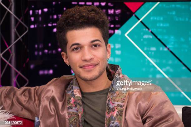 Jordan Fisher visits the Young Hollywood Studio on January 23 2019 in Los Angeles California