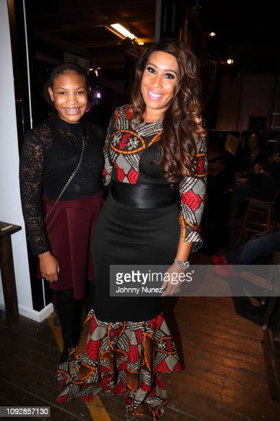Jordan Foster and Dr Chanita Foster attend the Super Bowl LIII Power Of Influence Awards at Coco Studios on February 1 2019 in Atlanta Georgia