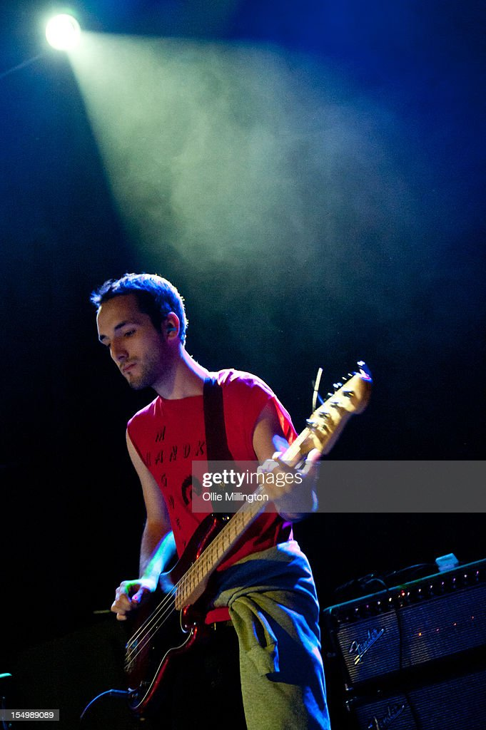 Jordan Gatesmith of Howler performs on stage during a date of the NME Magazine New Generation tour at Rescue Rooms on October 29, 2012 in Nottingham, United Kingdom.