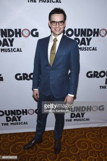 """Jordan Grubb attends the """"Groundhog Day"""" Broadway Opening Night at Gotham Hall on April 17, 2017 in New York City."""