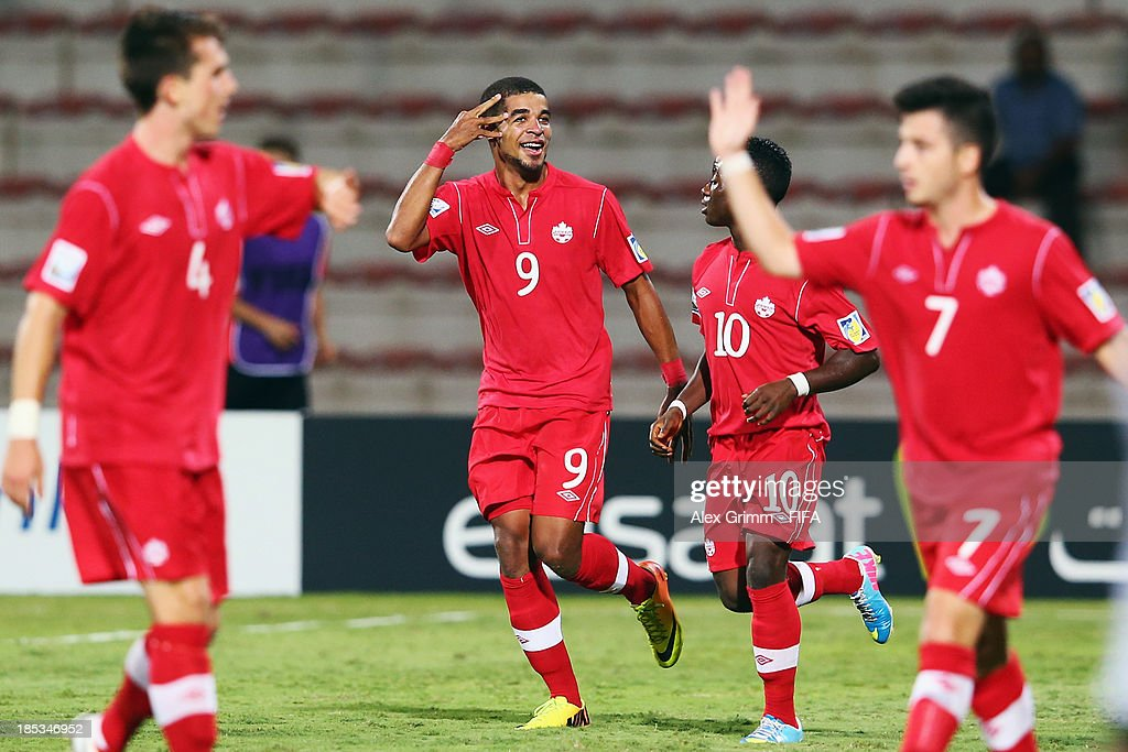 Canada v Austria: Group E - FIFA U-17 World Cup UAE 2013 : News Photo
