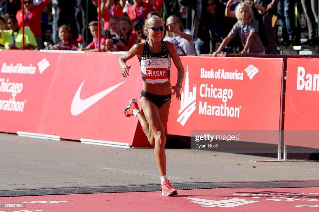 2017 Bank of America Chicago Marathon : News Photo