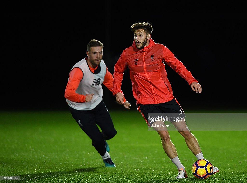 Liverpool FC Training : ニュース写真