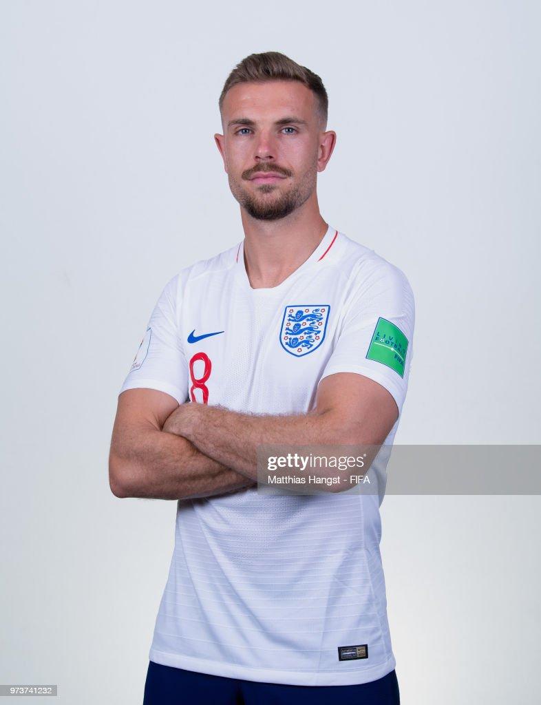 England Portraits - 2018 FIFA World Cup Russia : News Photo