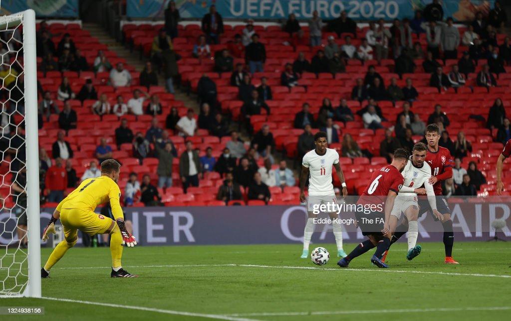 Czech Republic v England - UEFA Euro 2020: Group D : News Photo