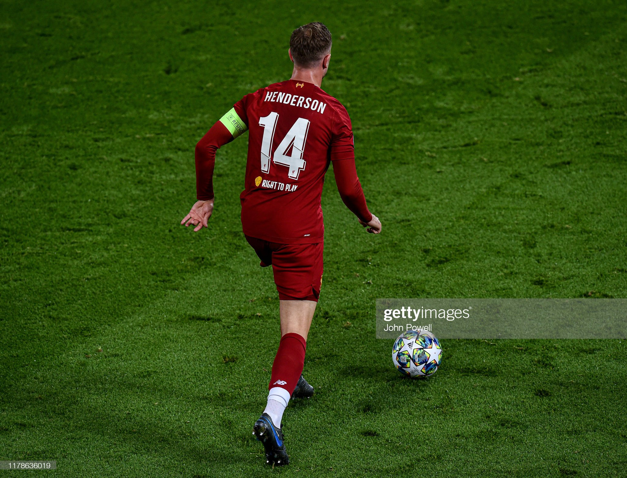Liverpool FC v RB Salzburg: Group E - UEFA Champions League : News Photo
