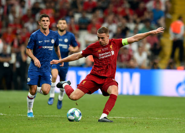 SUPER COUPE EUROPE UEFA 2019 Jordan-henderson-of-liverpool-during-the-uefa-super-cup-match-between-picture-id1168042230?k=6&m=1168042230&s=612x612&w=0&h=dqLerSdDmS3cDI9z1lpvnIHnIXgvLMcCDhZx4jBnV6U=