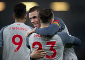 burnley england jordan henderson liverpool embraces