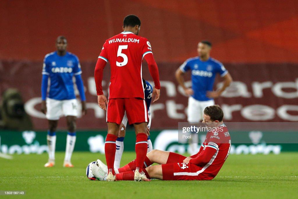 Liverpool v Everton - Premier League : ニュース写真