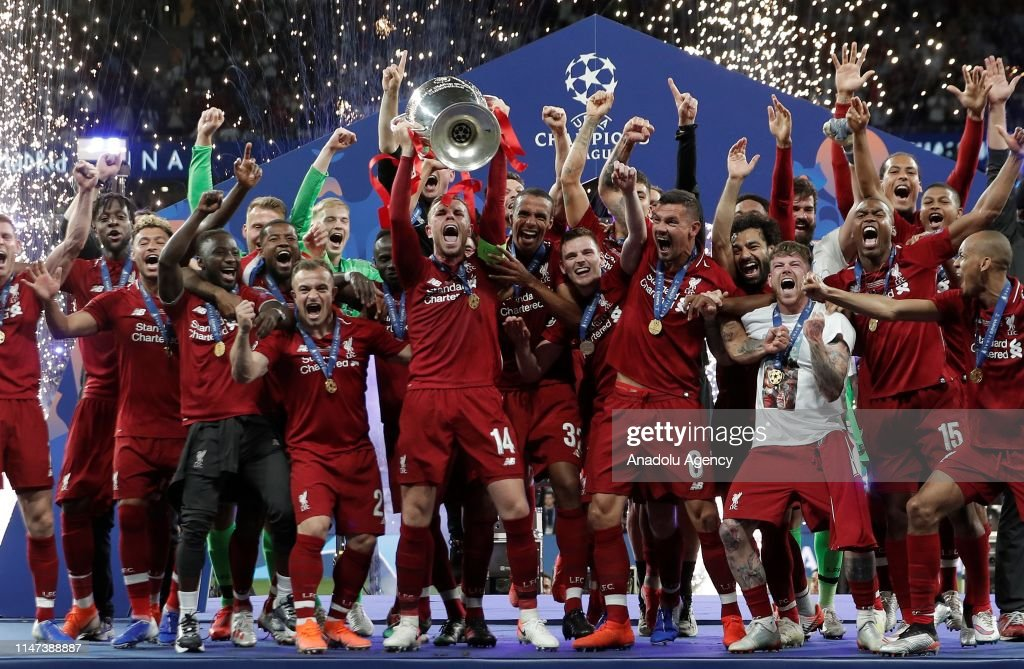 UEFA Champions League final: Tottenham vs Liverpool : News Photo