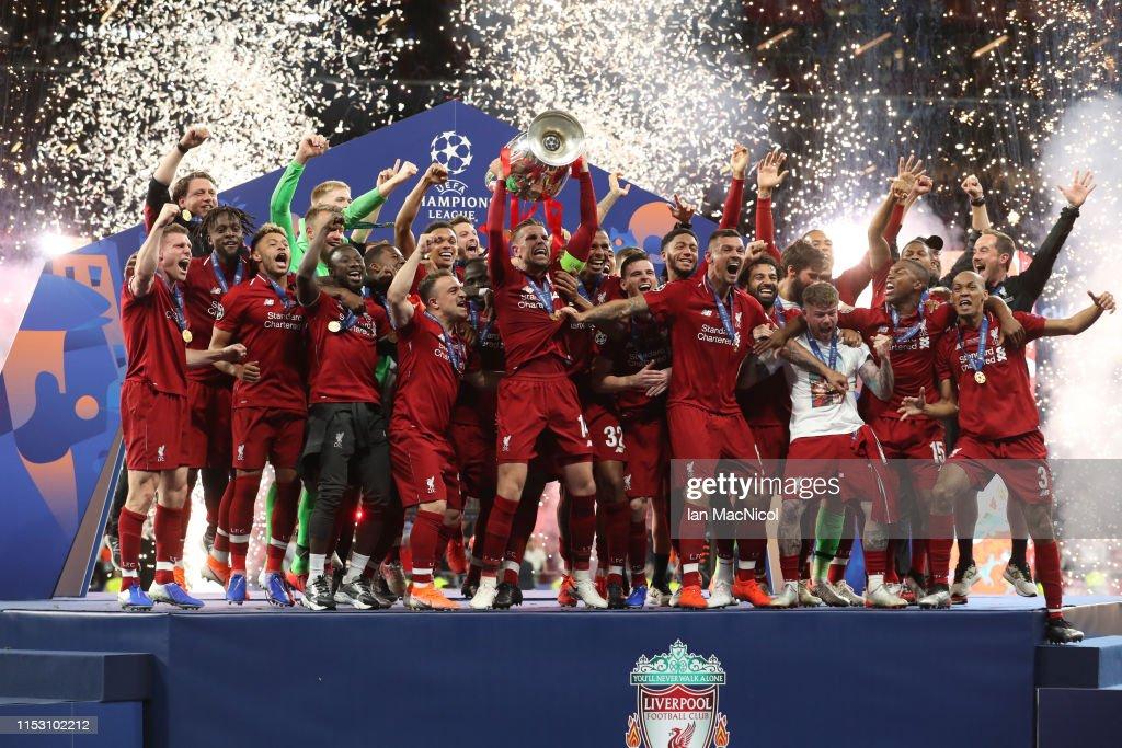 Tottenham Hotspur v Liverpool - UEFA Champions League Final : Fotografía de noticias