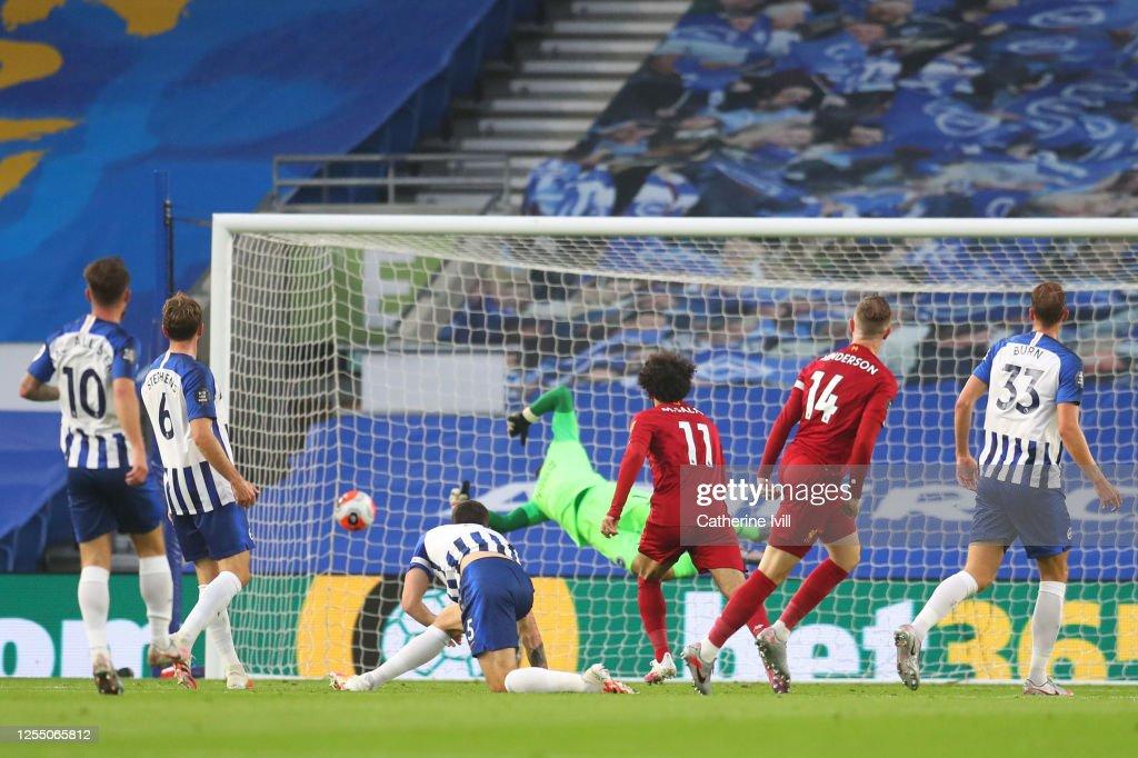 Brighton & Hove Albion v Liverpool FC - Premier League : ニュース写真
