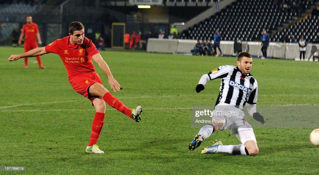 Udinese Calcio v Liverpool FC - UEFA Europa League : News Photo