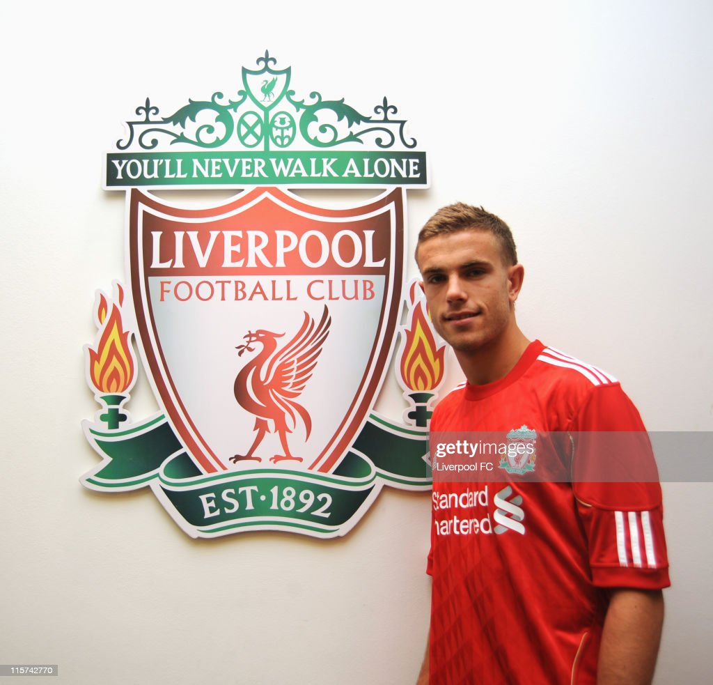 Jordan Henderson Signs For Liverpool FC