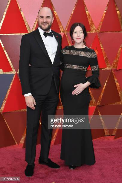 Jordan Horowitz and Julia Hart attend the 90th Annual Academy Awards at Hollywood Highland Center on March 4 2018 in Hollywood California