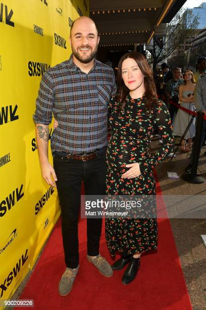 Jordan Horowitz and Julia Hart attends the 'Fast Color' Premiere 2018 SXSW Conference and Festivals at Paramount Theatre on March 10 2018 in Austin...