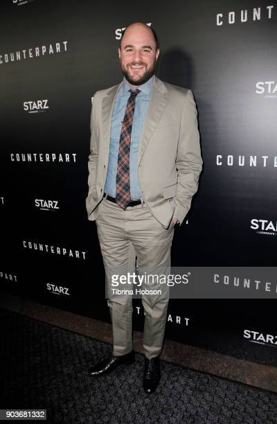 Jordan Horowitz attends the premiere of Starz's 'Counterpart' at Directors Guild of America on January 10 2018 in Los Angeles California