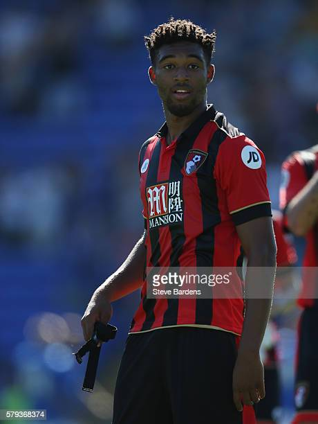 Jordan Ibe of AFC Bournemouth after a PreSeason Friendly match between Portsmouth FC and AFC Bournemouth at Fratton Park on July 23 2016 in...