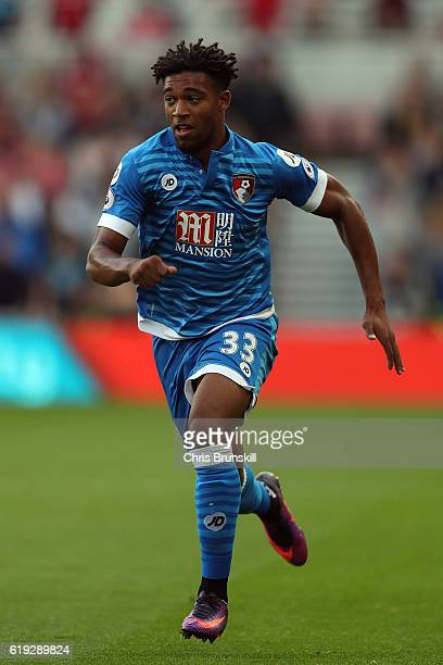 Jordan Ibe of AFC Bournemouth in action during the Barclays Premier League match between Middlesbrough and AFC Bournemouth at the Riverside Stadium...