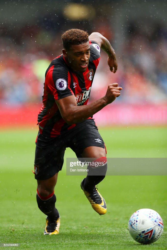 Jordan Ibe of AFC Bournemouth in action during the pre-season friendly match between Queens Park Rangers and AFC Bournemouth at Loftus Road on July 29, 2017 in London, England.