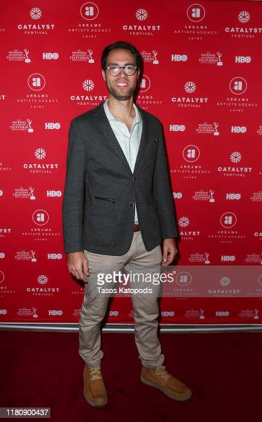 Jordan Jaffe attends the Catalyst Content Awards Gala on October 13 2019 in Duluth Minnesota
