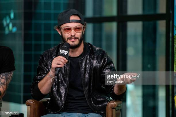 Jordan Kelley of Cherub discusses 'All In' with the Build Series at Build Studio on June 13 2018 in New York City