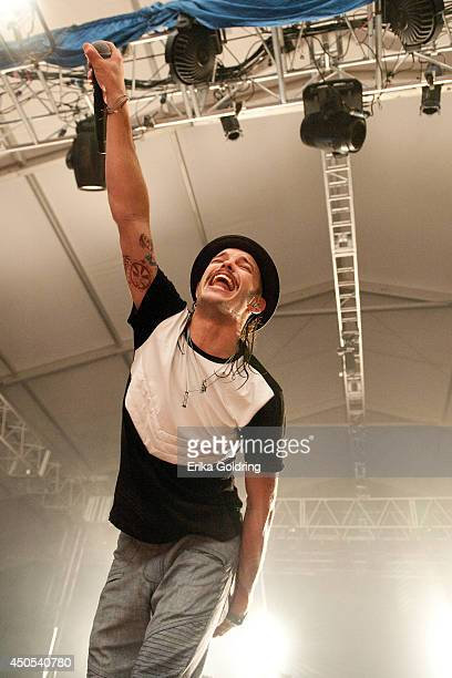Jordan Kelley of Cherub performs during the 2014 Bonnaroo Music Arts Festival on June 12 2014 in Manchester Tennessee
