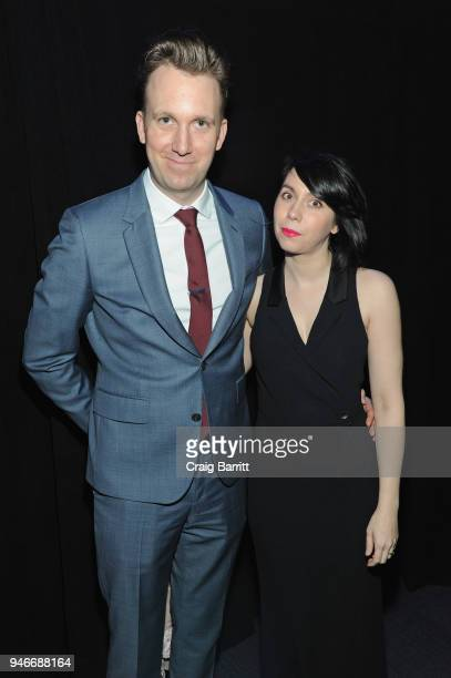 Jordan Klepper and Laura Grey attend the 10th Annual Shorty Awards at PlayStation Theater on April 15 2018 in New York City
